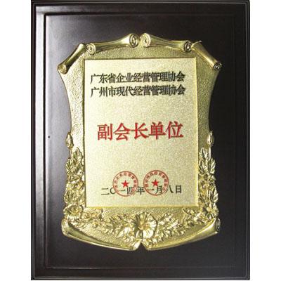 广东省企业经营管理协会副会长单位