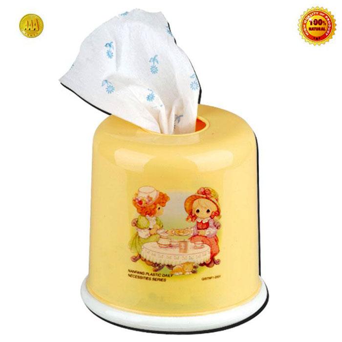 品名:纸巾筒 材质:食品级pp 尺寸:13.5*13cm 装箱数:120个 包装:opp